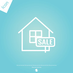 The for sale vector icon