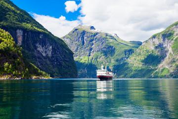 Geiranger at Geirangerfjord, Norway