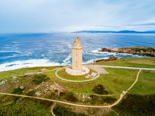 Tower of Hercules Torre in A Coruna