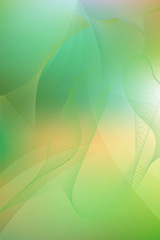 Light Green soft abstract background with a gradient for various design artworks, business cards.