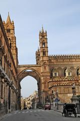 Palermo, lPiazza della Cattedrale