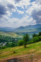 Rural landscape, Khashtarak village