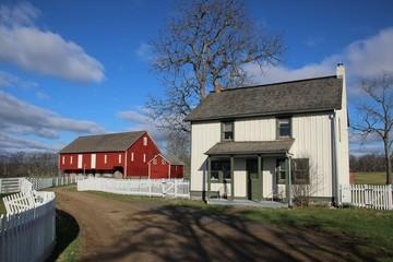 Farm on Gettysburg's Battlefield