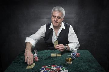 Poker, Spieler, Glück, Casino