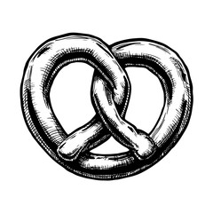 illustration of Pretzel