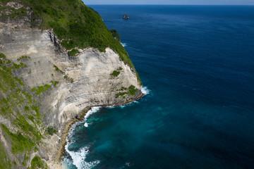 The Nusa Penida island in Indonesia