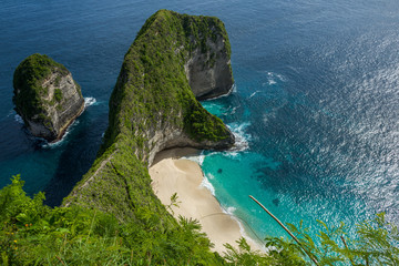 The Nusa Penida island in Indonesia