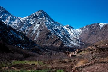 High Atlas Mountains Winter