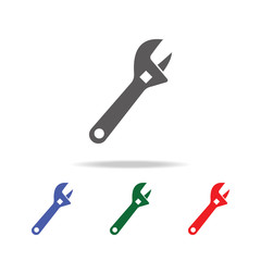 pipe wrench icon. Elements of construction tools multi colored icons. Premium quality graphic design icon. Simple icon for websites, web design, mobile app, info graphics