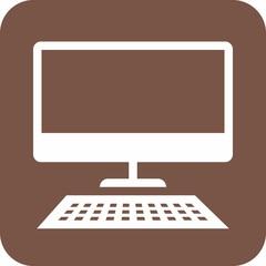 Desktop, screen, keyboard