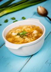 Czech homemade soup