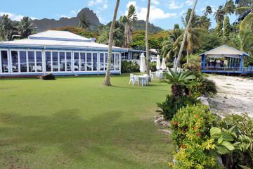 Tamarind house restaurant and bar in Avarua Rarotonga Cook Islands