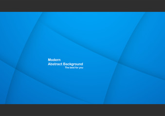 Blue abstract background with copy space for text. Modern template design for cover, web banner, screen and magazine.