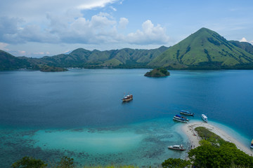 Flores Waterside near Labuan Bajo in Indonesia