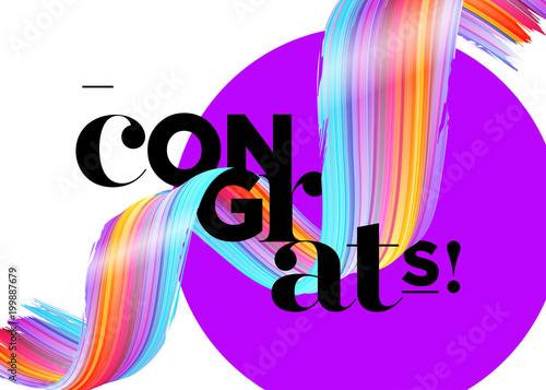 congrats vector card congratulations graduates 2018 logo creative
