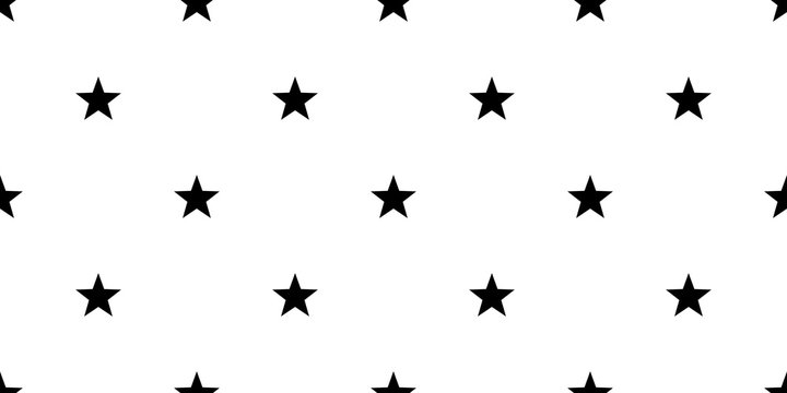 star vector seamless Pattern isolated background wallpaper