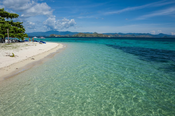 Kanawa Island in Flores, Indonesia.