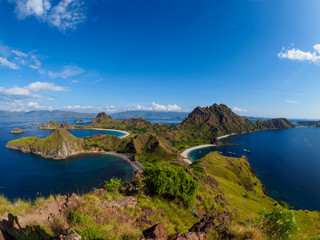 Padar Island in Flores, Indonesia.