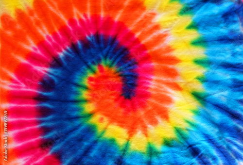 80d7c6a561ff close up tie dye fabric pattern background