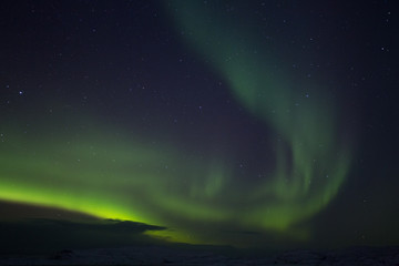 Aurora Borealis (Northern Lights) green