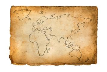 old retro map