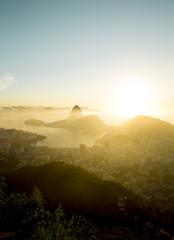 Skyline of Rio de Janeiro with Sugarloaf mountain, Brazil