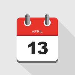 roter kalender april 13