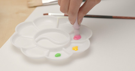 Water color tool for painting
