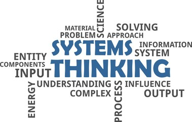 word cloud - systems thinking
