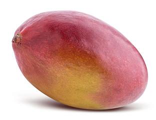 Sweet mango isolated on white background. Clipping path