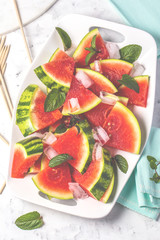 Saftige Wassermelone