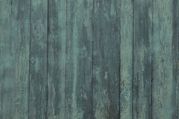 old green painted wooden board