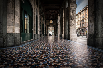Fotomurales - Architecture and sights of the Italian city of Genoa