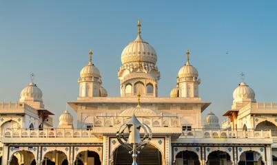 Gurudwara Guru Ka Taal, a historical Sikh pilgrimage place near Sikandra in Agra, India