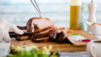 Couper la viande comme un chef