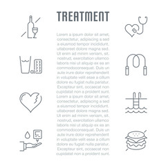 Website Banner and Landing Page of Treatment.