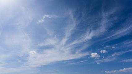 Sky cloudscape background