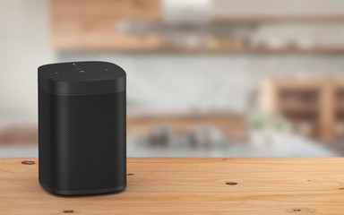 Smart high fidelity speaker with voice control