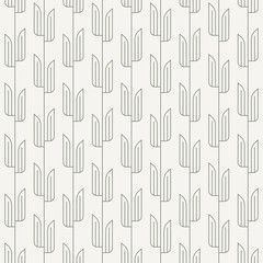 vector pattern with abstract bamboo leaves background. pattern is on swatches panel.