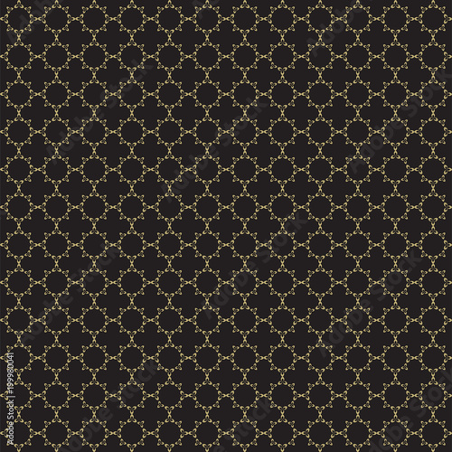 Fancy Gold Ornate Background Texture In Vector Format Geometric Quatrefoil Trellis Pattern Wallpaper