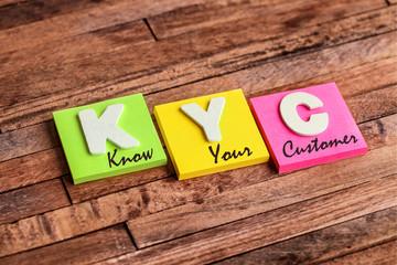 post-it acronyme : KYC