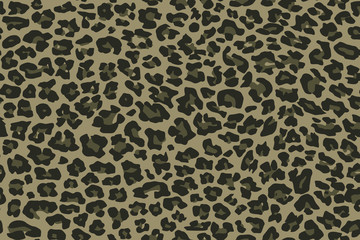 Print texture military camouflage repeats seamless army green hunting leopard jaguar