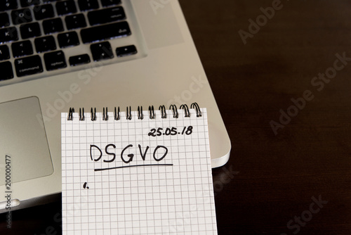 German General Data Protection Regulation DSGVO new law in