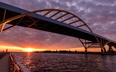 Hoan Bridge, Milwaukee, Wisconsin