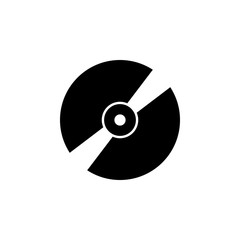 music disk icon. Element of music icon. Premium quality graphic design icon. Signs and symbols collection icon for websites, web design, mobile app
