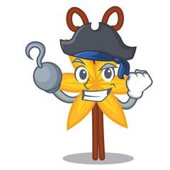 Pirate vanilla character cartoon style
