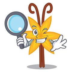 Detective vanilla character cartoon style