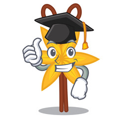 Graduation vanilla character cartoon style
