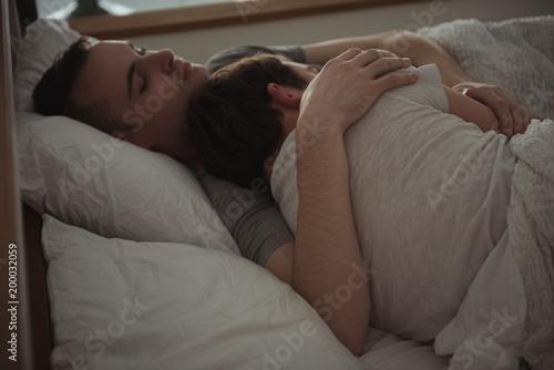 Gay while sleeping