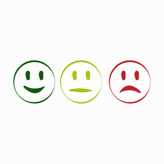 smile minimalistic icon